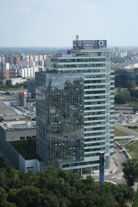 Aupark Tower in Bratislava